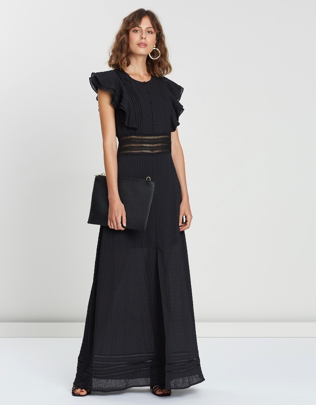 Ruffle Maxi Dress by Atmos&Here