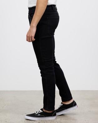Wrangler - Sid Jeans - Slim (Washed Black) Sid Jeans