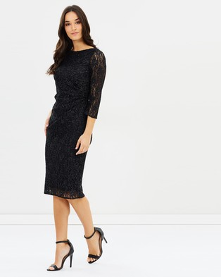 Dorothy Perkins – Lace Body Con Dress – Bodycon Dresses Black