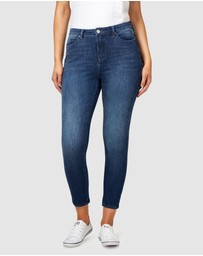Jeanswest - 360 Repreve High Waist Curve 7/8