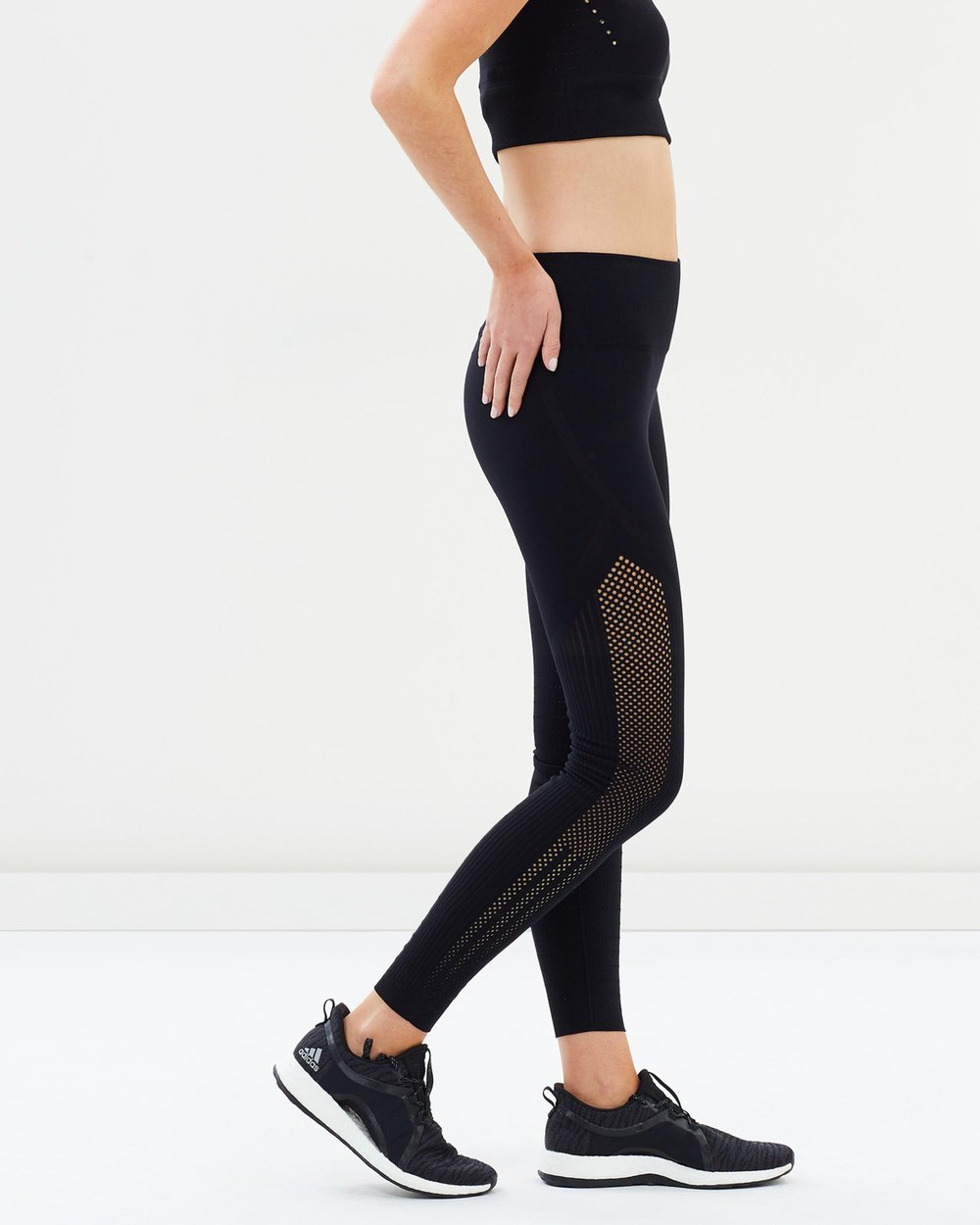 305e043e9a8a7 Warp Knit High Rise 7 8 Tights By Adidas Performance Online The