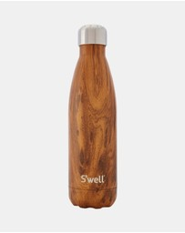 S'well - Insulated Bottle Wood Collection 500ml Teakwood