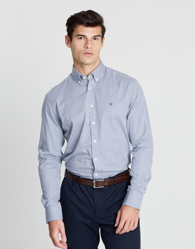 Hackett - Mini Check Shirt