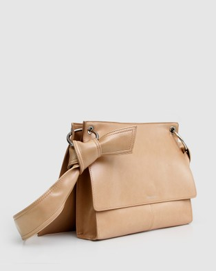 Belle & Bloom Better Together Messenger Bag - Satchels (Camel)