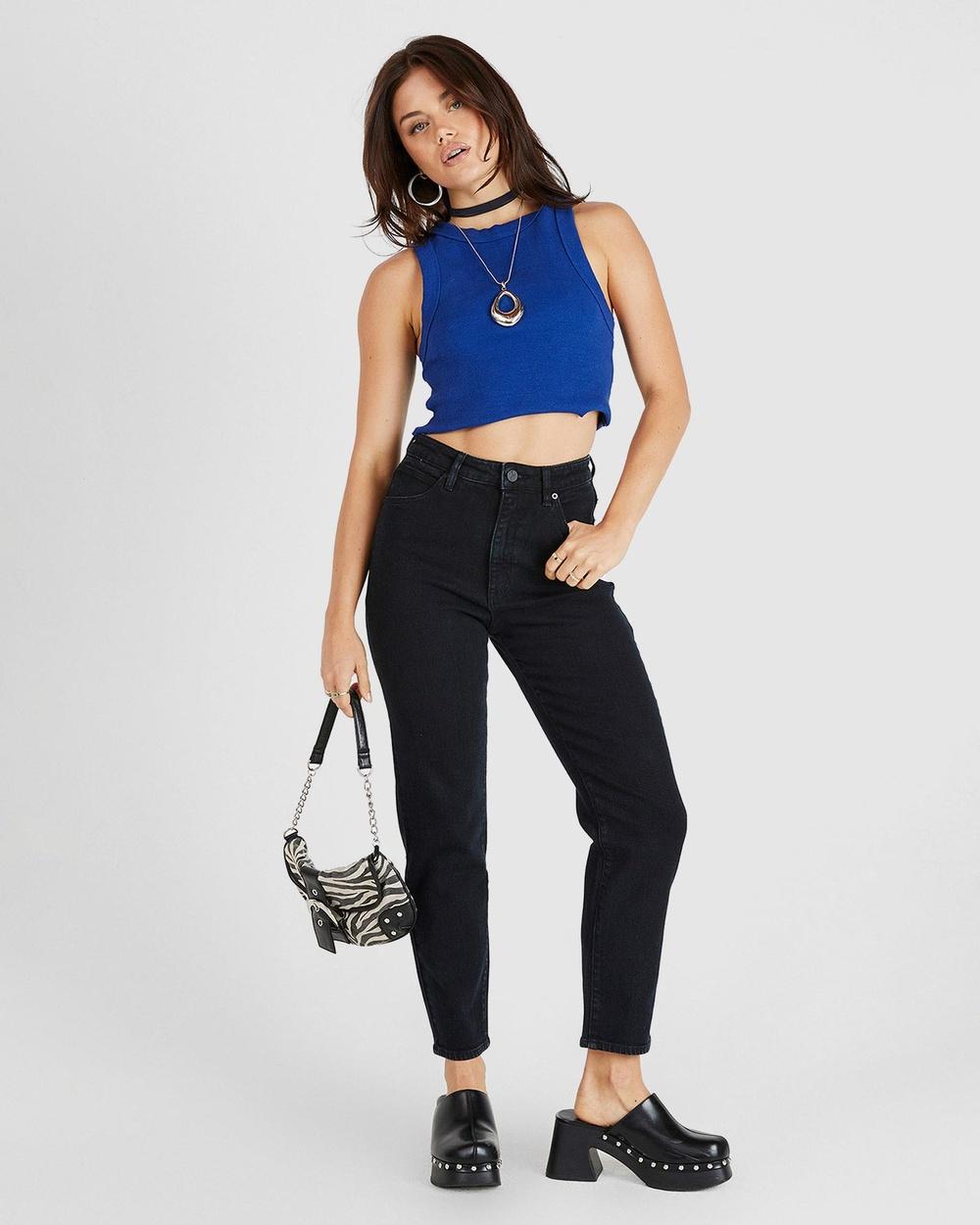 Abrand Petite A 94 High Slim Jeans Vintage 90210