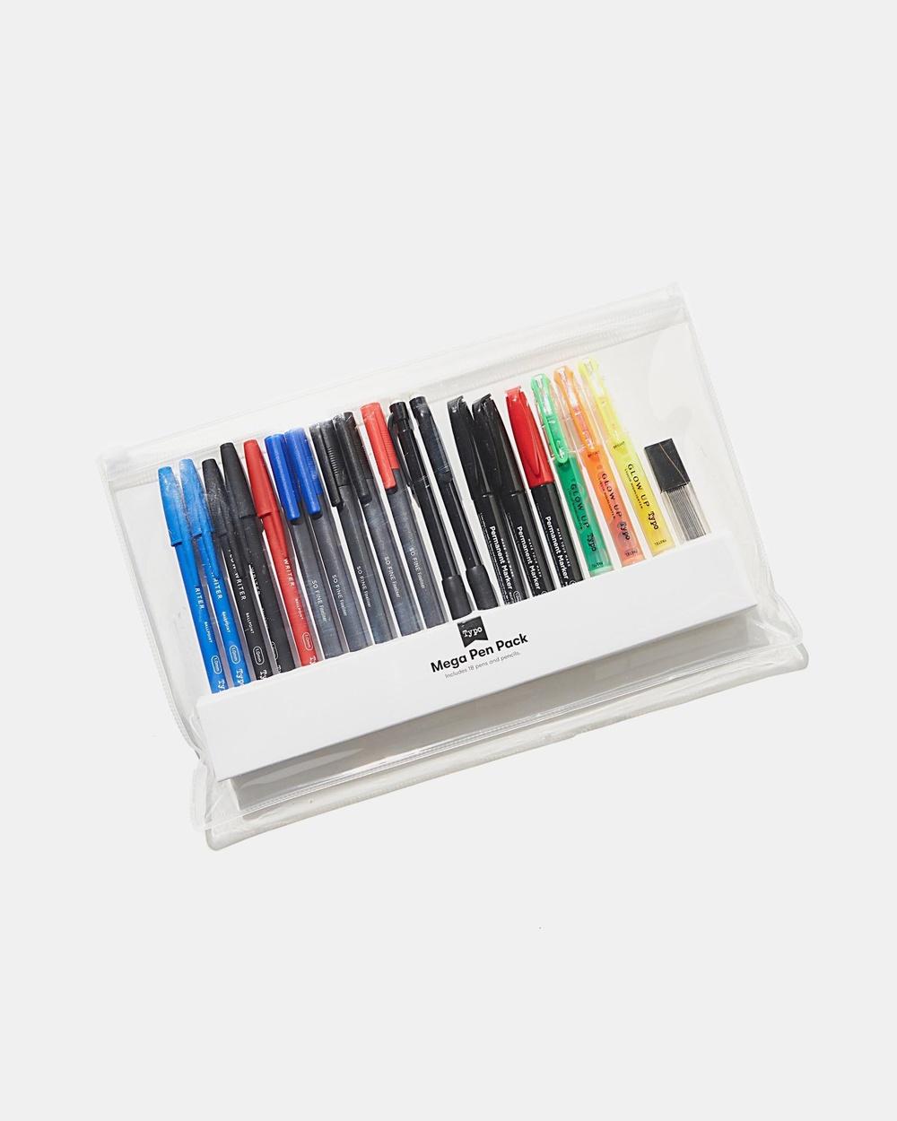 Typo Mega Pen Pack All Stationery Multi