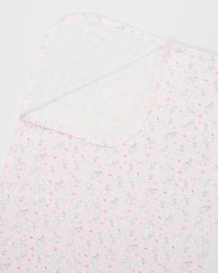 Bebe by Minihaha Print Bunny Rug - Wraps & Blankets (Bunny)