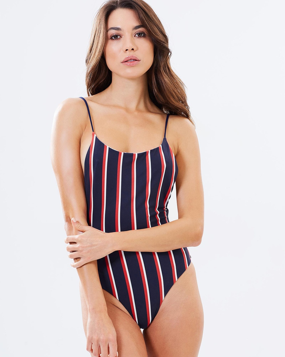 Bond-Eye Swimwear Sunday Session Reversible One Piece One-Piece / Swimsuit Varsity Stripe Sunday Session Reversible One-Piece