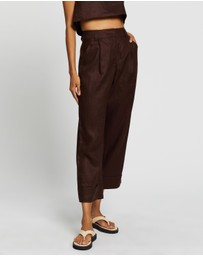 AERE - Tailored Linen Pants