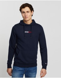 Tommy Jeans - Embroidered Box Hoodie