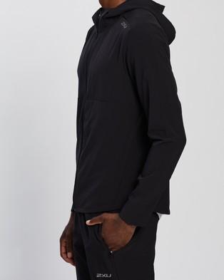 2XU XVENT DWR Jacket Coats & Jackets Black Silver Reflective