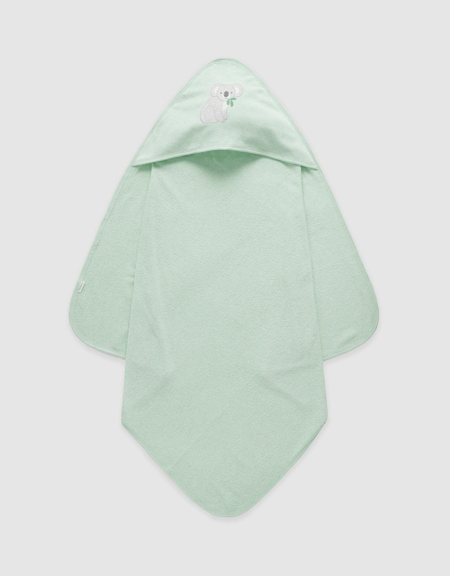 Purebaby - Hooded Towel - Koala