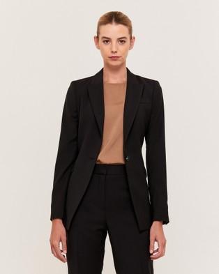 SABA Celeste Wool Suit Jacket - Blazers (black)