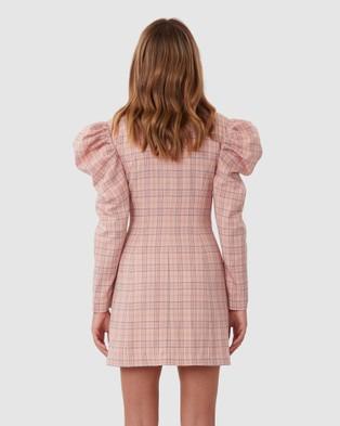 TORANNCE Check Mate Blazer Dress - Dresses (Pink)