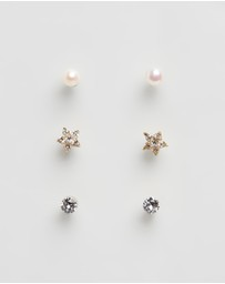 Mestige Kids - Janey Earrings Set With Swarovski Crystals