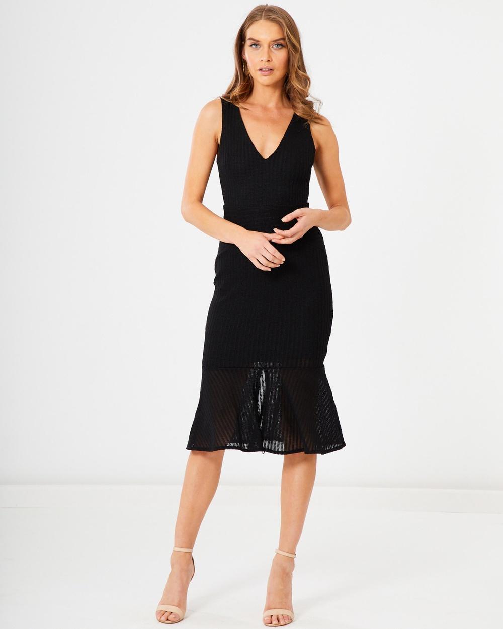 Photo of Tussah Black Jacinda Midi Dress - beautiful dress from Tussah online