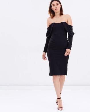 DELPHINE – Neoptera Dress – Bridesmaid Dresses Black