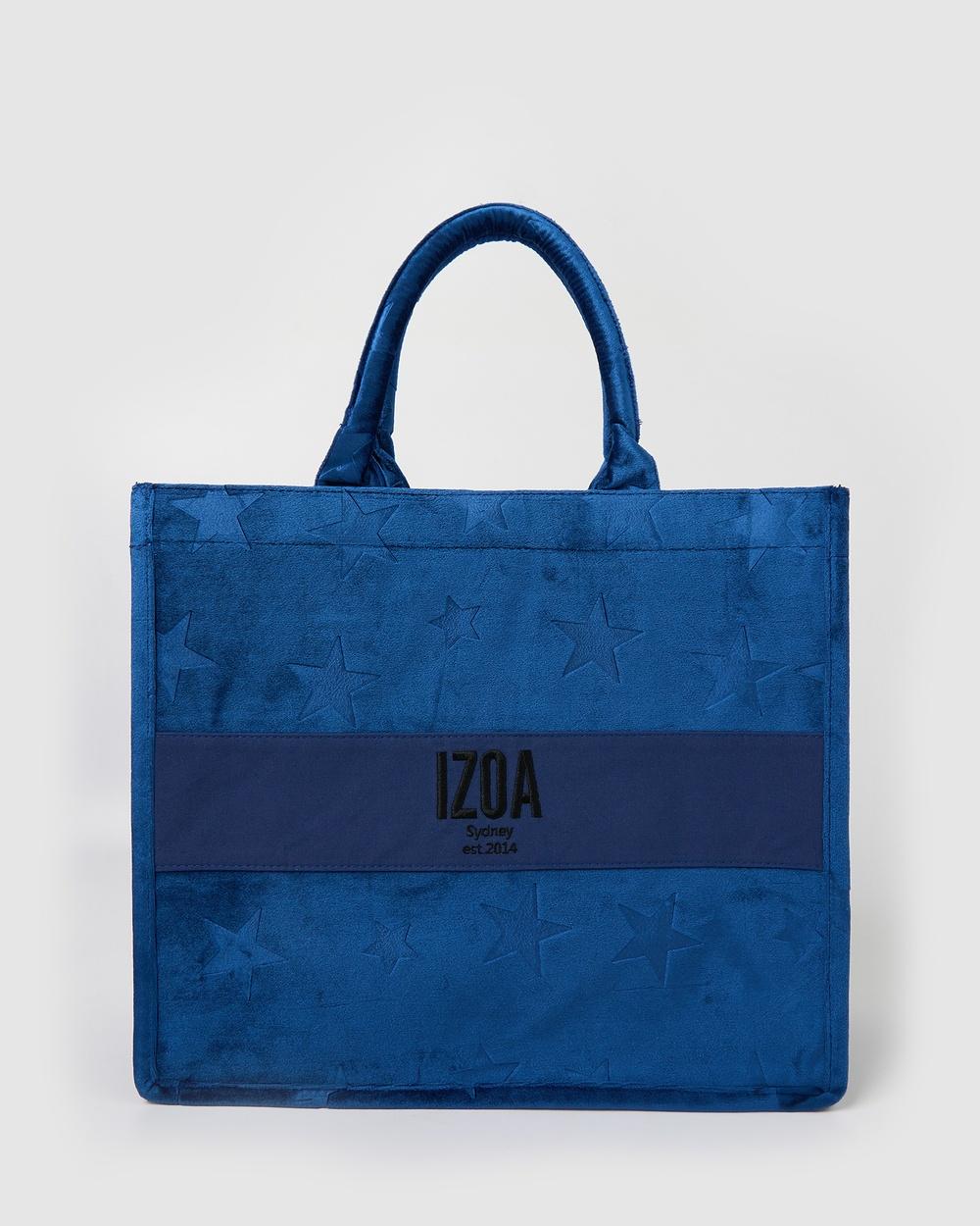 Izoa Miranda Tote Bag Beach Bags Blue
