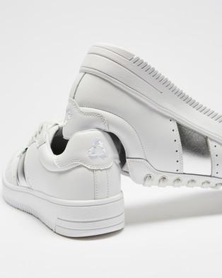 Human Premium Chantal - Sneakers (White & Silver)