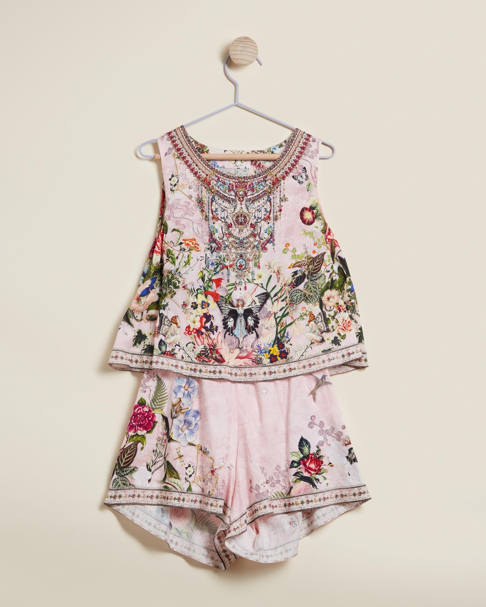 Camilla Double Layer Playsuit Kids Teens Jumpsuits & Playsuits Young Hearts Kids-Teens