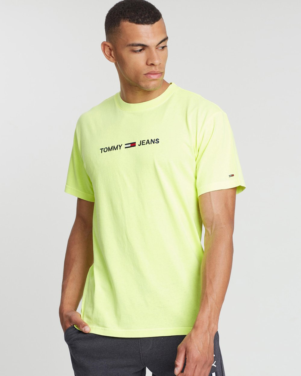 8a331f69a Small Text Tee by Tommy Jeans Online | THE ICONIC | Australia