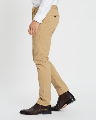 3 Wise Men Charlie Chinos - Pants (Tan)
