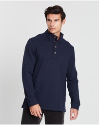 Sportscraft - Reedy Quarter Button Sweatshirt