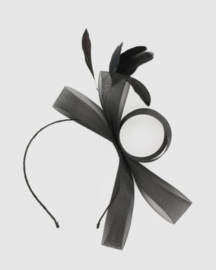 Morgan & Taylor Nyla Fascinator - Fascinators (Black)