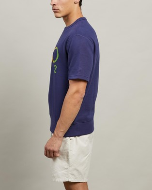 Polo Ralph Lauren ICONIC EXCLUSIVE   Short Sleeve Knit - Sweats (Boathouse Navy)