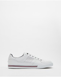 Tommy Hilfiger - Core Corporate Leather Sneakers - Men's