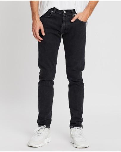 Edwin Ed-85 Slim Tapered Drop-crotch Jeans Kagami Wash