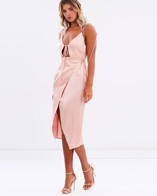 Bec & Bridge – Mineral Magic Dress – Dresses (Blush)