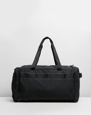 Nike Utility Duffel Bag - Duffle Bags (Black & Enigma Stone)