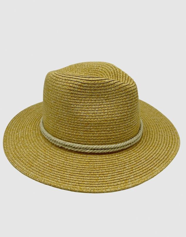 Women Jacaru 1881 Panama Hat Sand with String