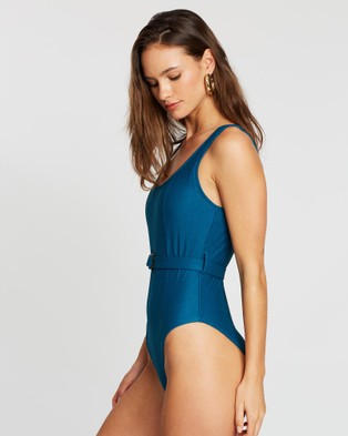 LENNI the label Currents Full  Piece - One-Piece / Swimsuit (Marine)