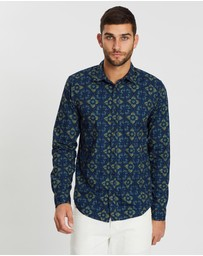 Scotch & Soda - Mixed Print Regular Fit Shirt