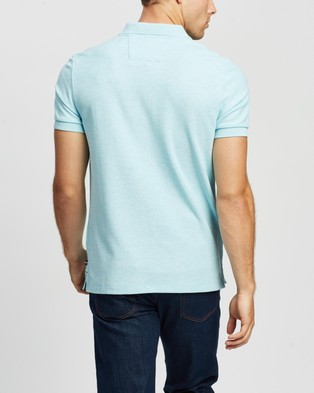 NAUTICA Solid Slim Fit Deck Polo - Shirts & Polos (Waterslide Heat)