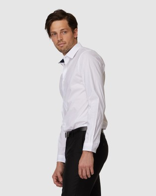 Jack London Hendrick Stretch Shirt - Casual shirts (White)