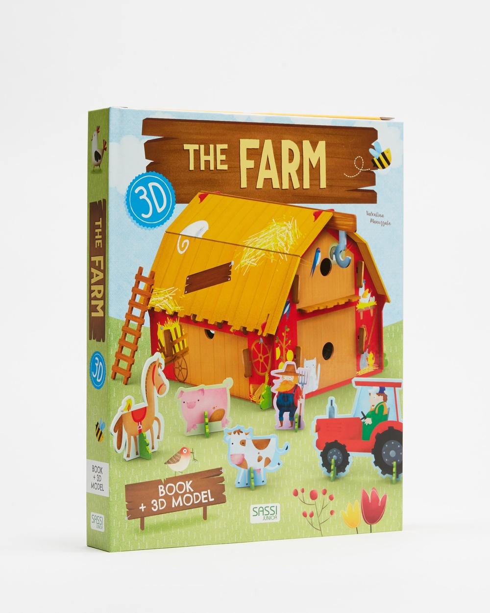Sassi 3D Farm & Book Accessories Multi