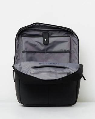 Kapten & Son Stockholm - Backpacks (All Black)