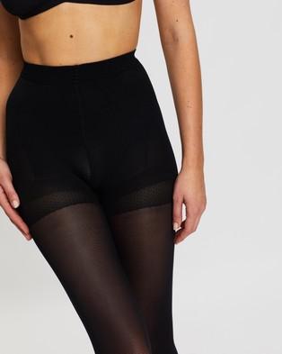 The Legwear Company 2 Pack 60 Denier Support Tights - Full Length (Black)