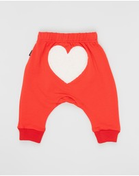 Rock Your Baby - Heart Pants - Babies - ICONIC EXCLUSIVE