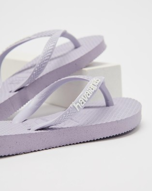 Havaianas - Slim   Kids - All thongs (Lilac Calm) Slim - Kids