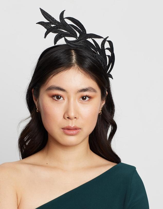 Women Lace Crown Headband Fascinator