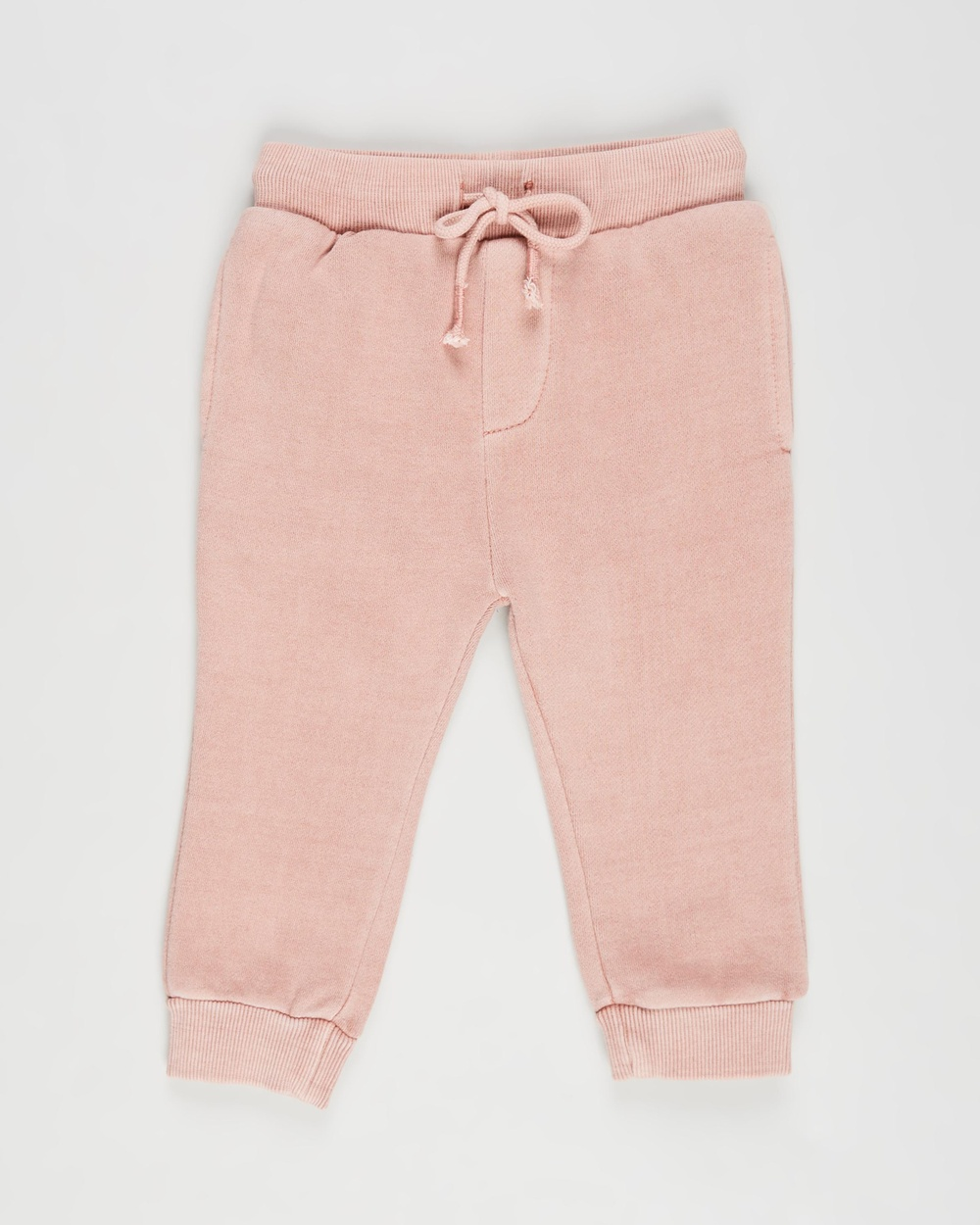 Animal Crackers Stand Out Pants Babies Sweatpants Pink