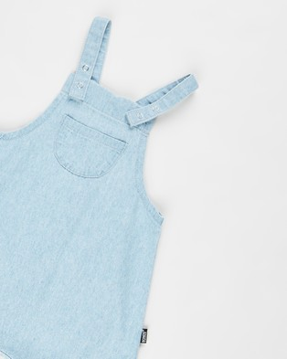 Bonds Baby Denim Overalls   Babies - Sleeveless (Summer Blue)
