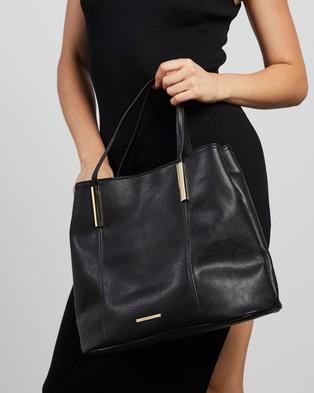 Tony Bianco THE ICONIC EXCLUSIVE   Gia Tote Bag - Handbags (Black)