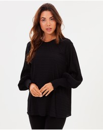 Cooper St - Ti Amo Long Sleeve Top