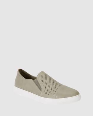 Jane Debster Celina - Slip-On Sneakers (KHAKI)