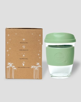Think Cups Think Cup California Dreaming 12oz - Travel and Luggage (Green)